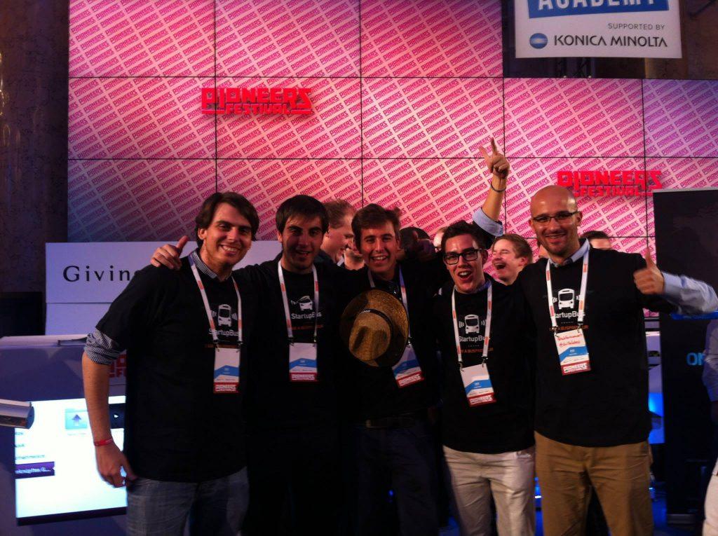 Finalistas Startup Bus 2013
