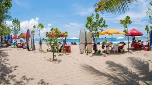 Kuta Beach. Mejores playas de Bali.