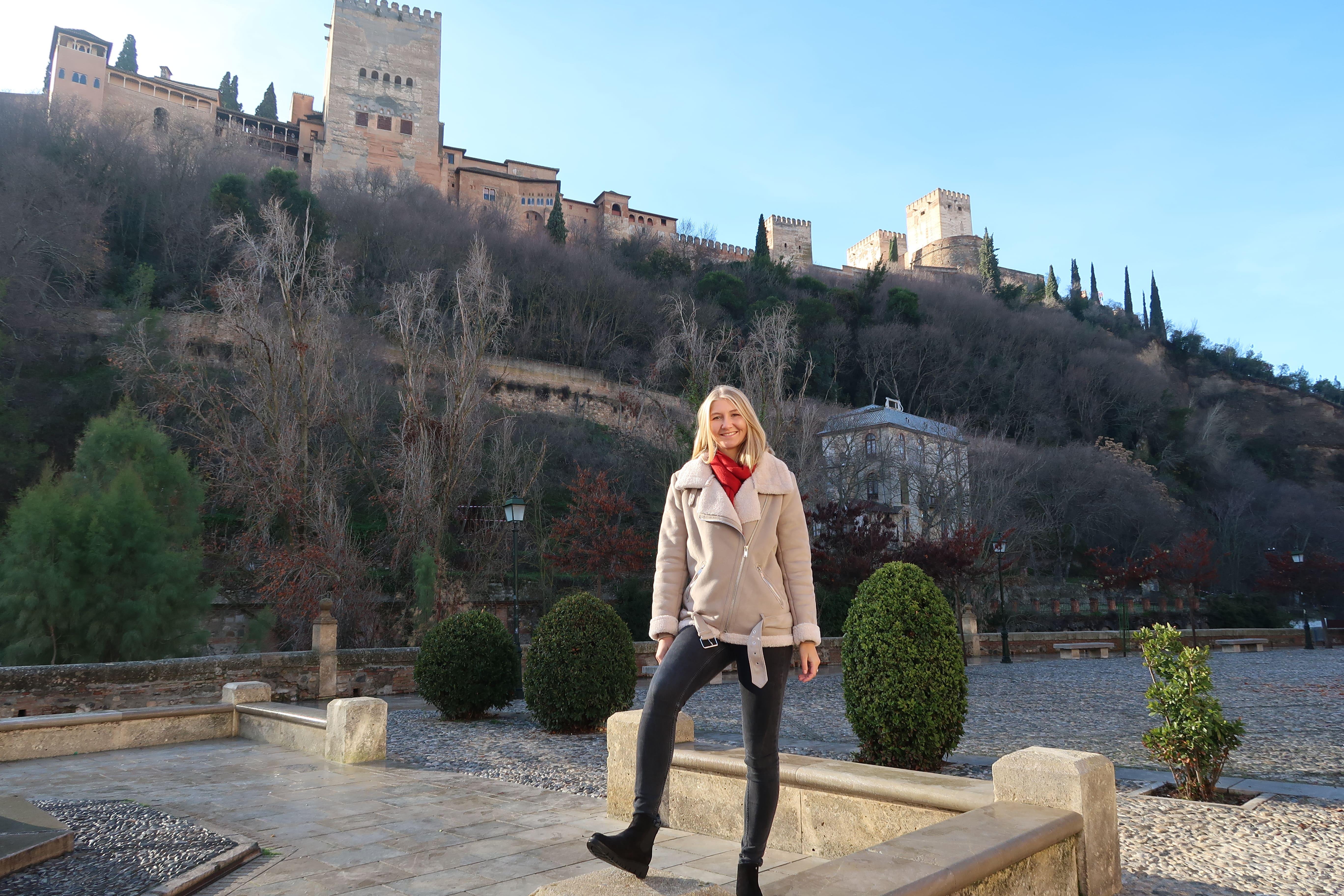 Vistas de la Alhambra bajo sus piés