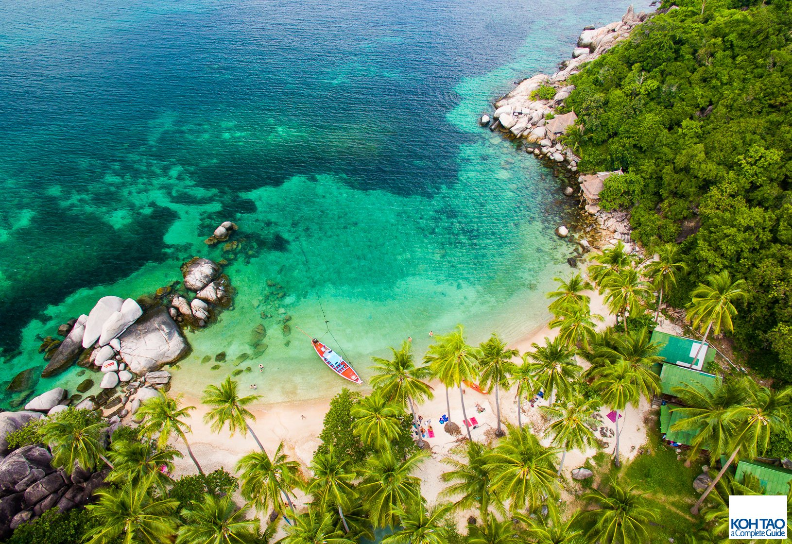 Mejores playas de Koh Tao. Freedom Beach.