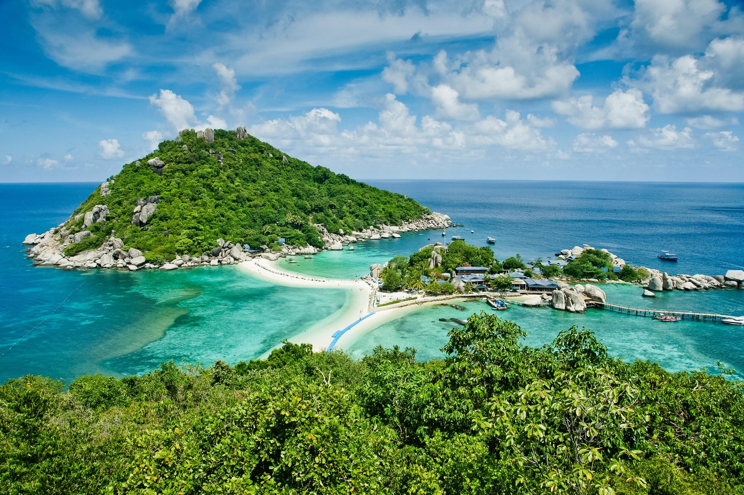 ¿Sabes donde se encuentra esta isla? Una pista, está cerca de Koh Tao.