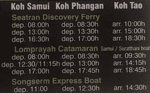 Cómo llegar a Koh tao desde Samui