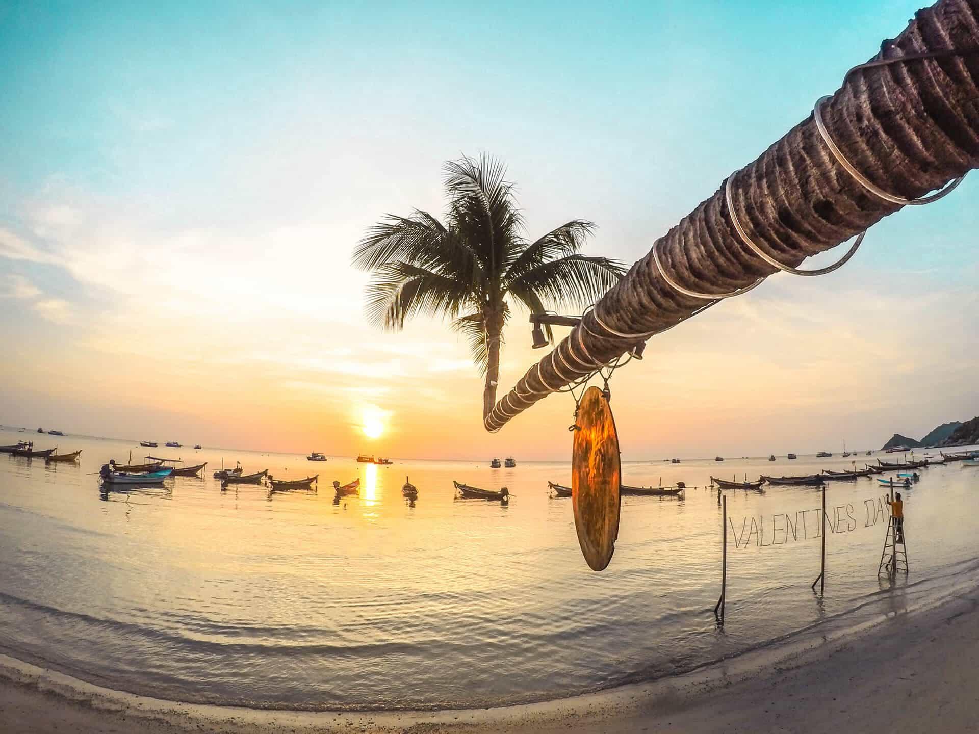 Mejores Playas de Koh Tao. Sairee Beach.
