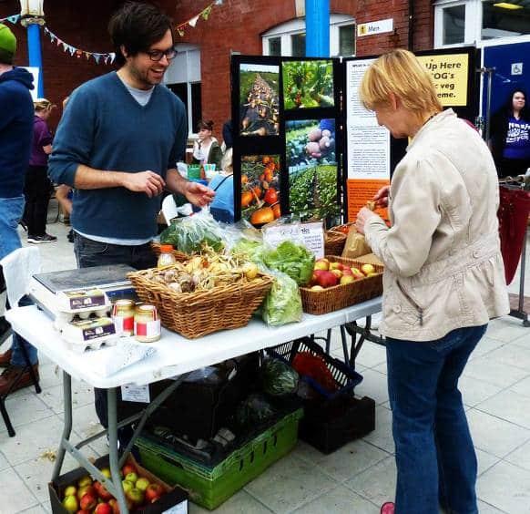"""Verduras y hortalizas durante el 'Green Bean Market"""""""