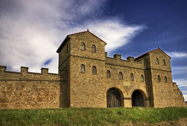 Foto del fuerte de Arbeia