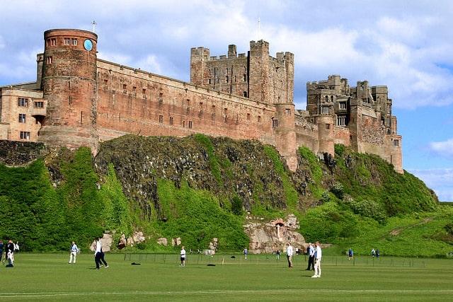 Panorámica del castillo de Bamburgh