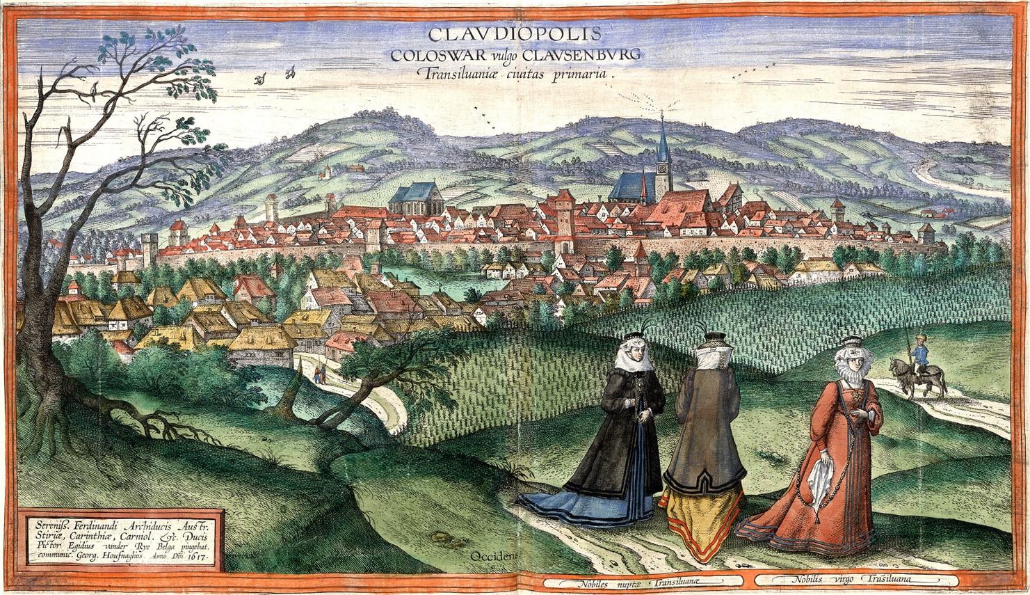 Cuadro Cluj by Joris Hoefnagel, 1617