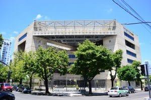 Fachada del Teatro Argentino de La Plata
