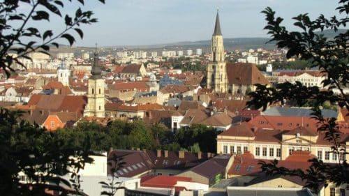 Vistas desde Fortaleza Dealul Cetățuia