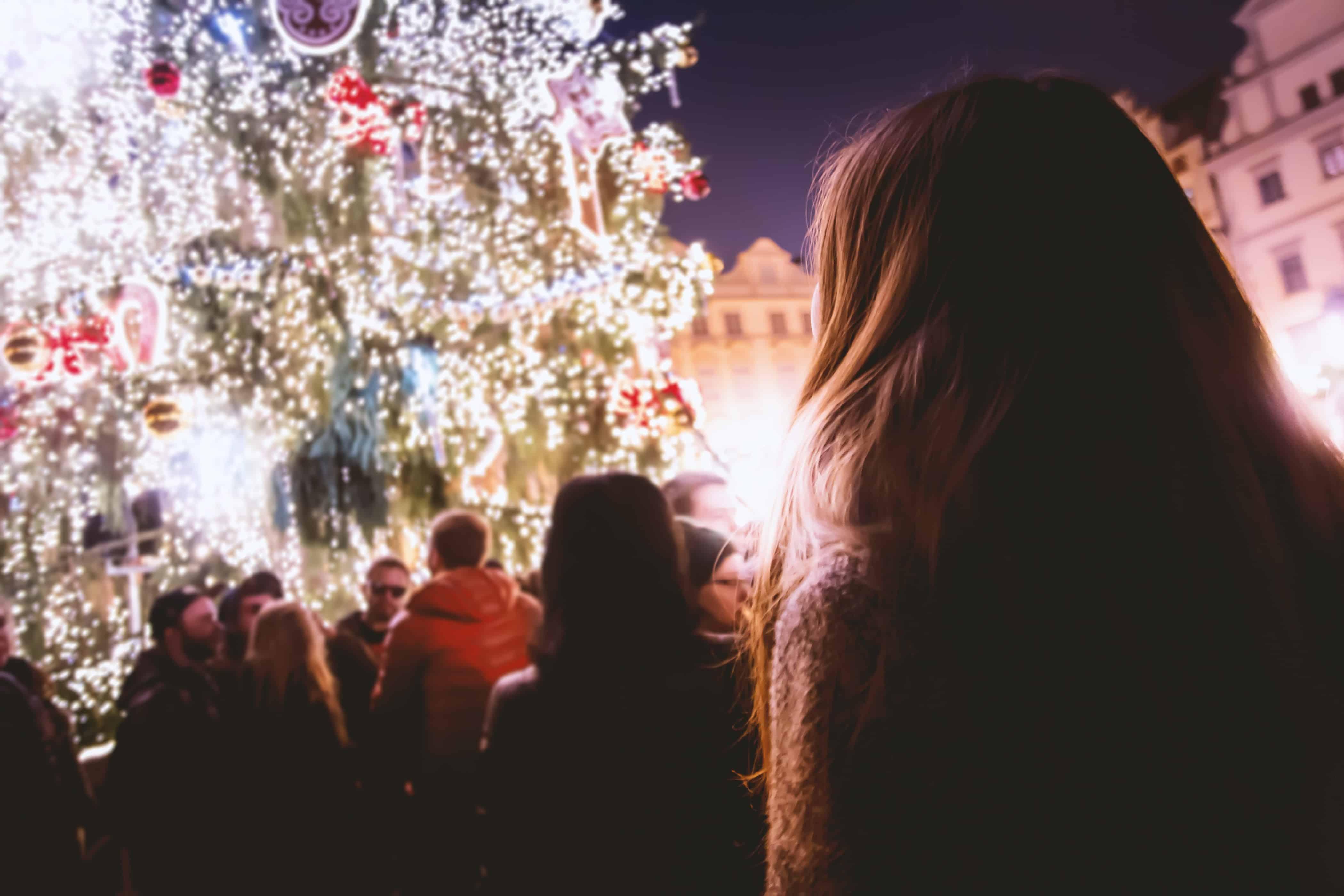 invierno en Cracovia
