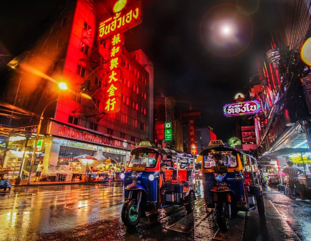 errores al viajar al Tailandia