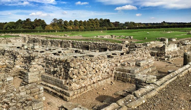 Foto de los restos del fuerte romano de Cordbridge
