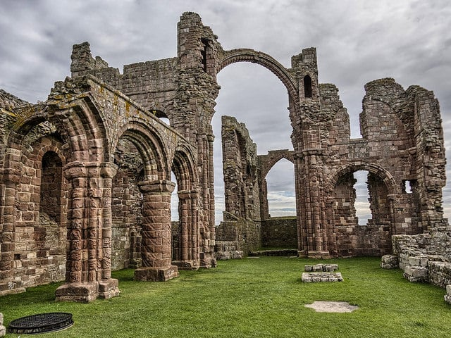 Ruinas de Lindisfarne (Mark J Photography)