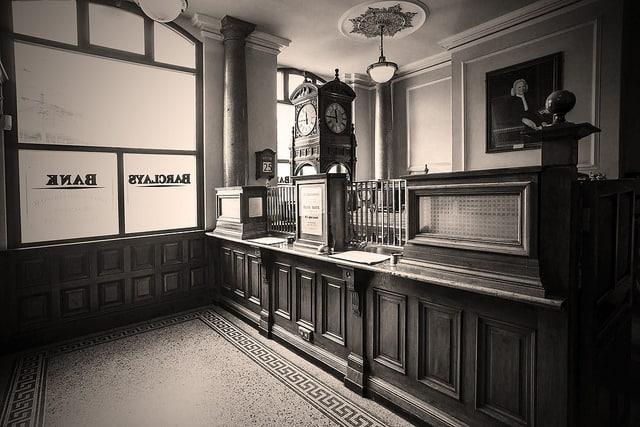 Entrada del al banco de Beamish (Gordon Hawks)