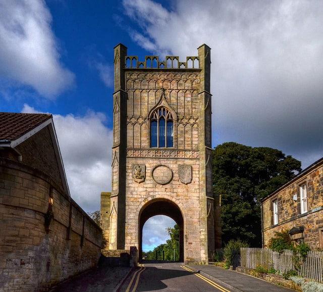 Puerta de piedra de Pottergate (Baz Richardson)