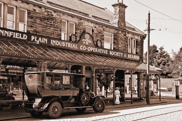 En Beamish podrás montar en coches de más de dos siglos (Dave Cleghorn)