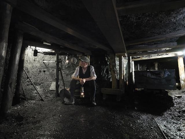 Interiores de las minas (Beamish Museum)