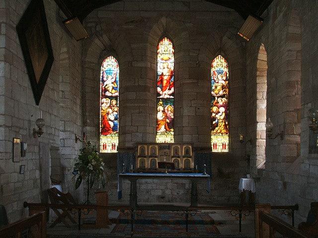 Interiores Lindisfarne (Marcus)