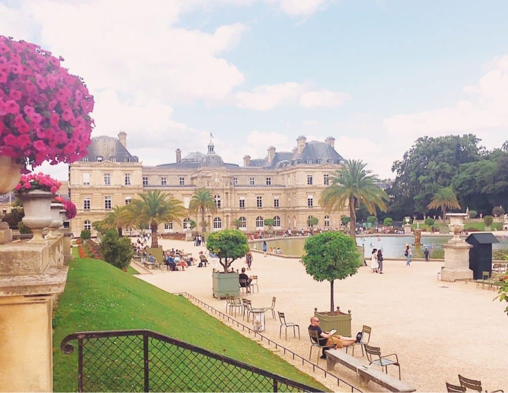 Jardin du Luxembourg de Paris