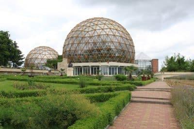 Paseo por el Jardín botánico de Jibou