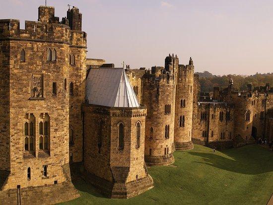 Parte del castillo en donde se rodó Harry Potter (Tripadvisor)