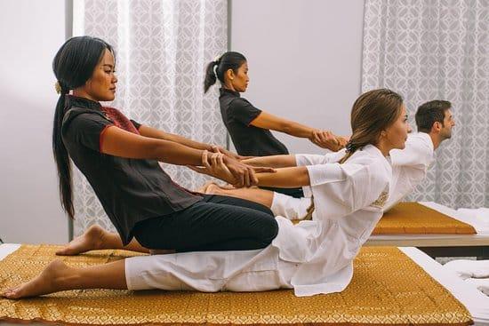 tipos de masaje tailandés