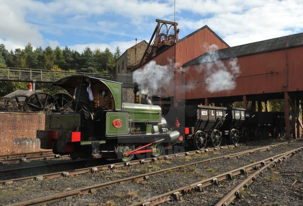 Parte de la fábrica de carbòn de Beamish (picfair.com)
