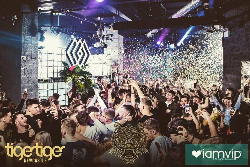 Tiger-Tiger una de las mejores discotecas en Newcastle