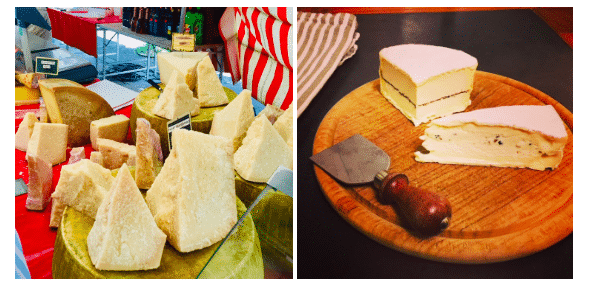 quesos para comer en Paris