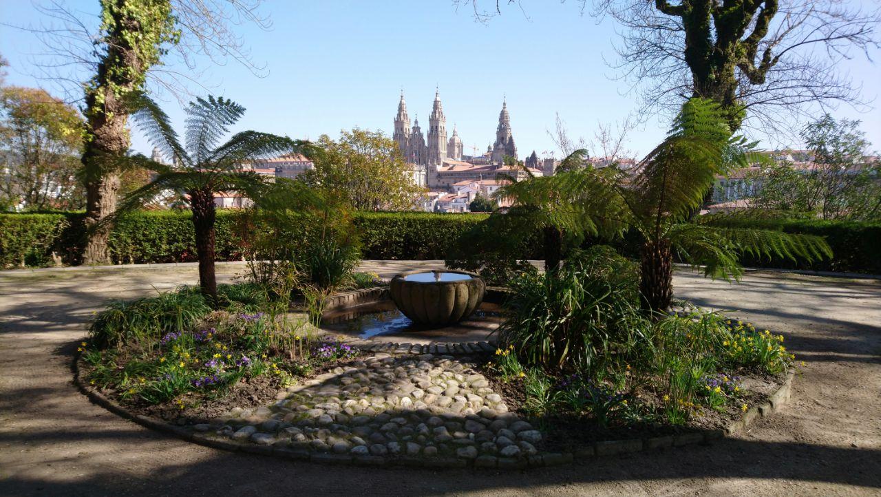 Parques de Santiago de Compostela