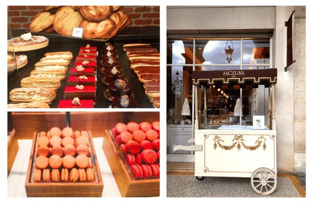 Comer macarons en París
