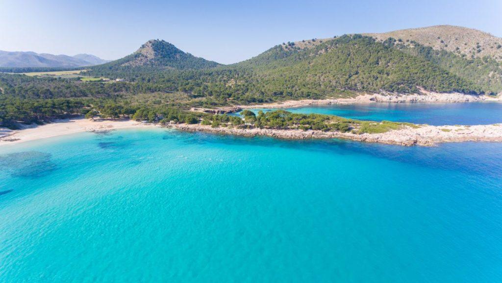 playa agulla Mallorca