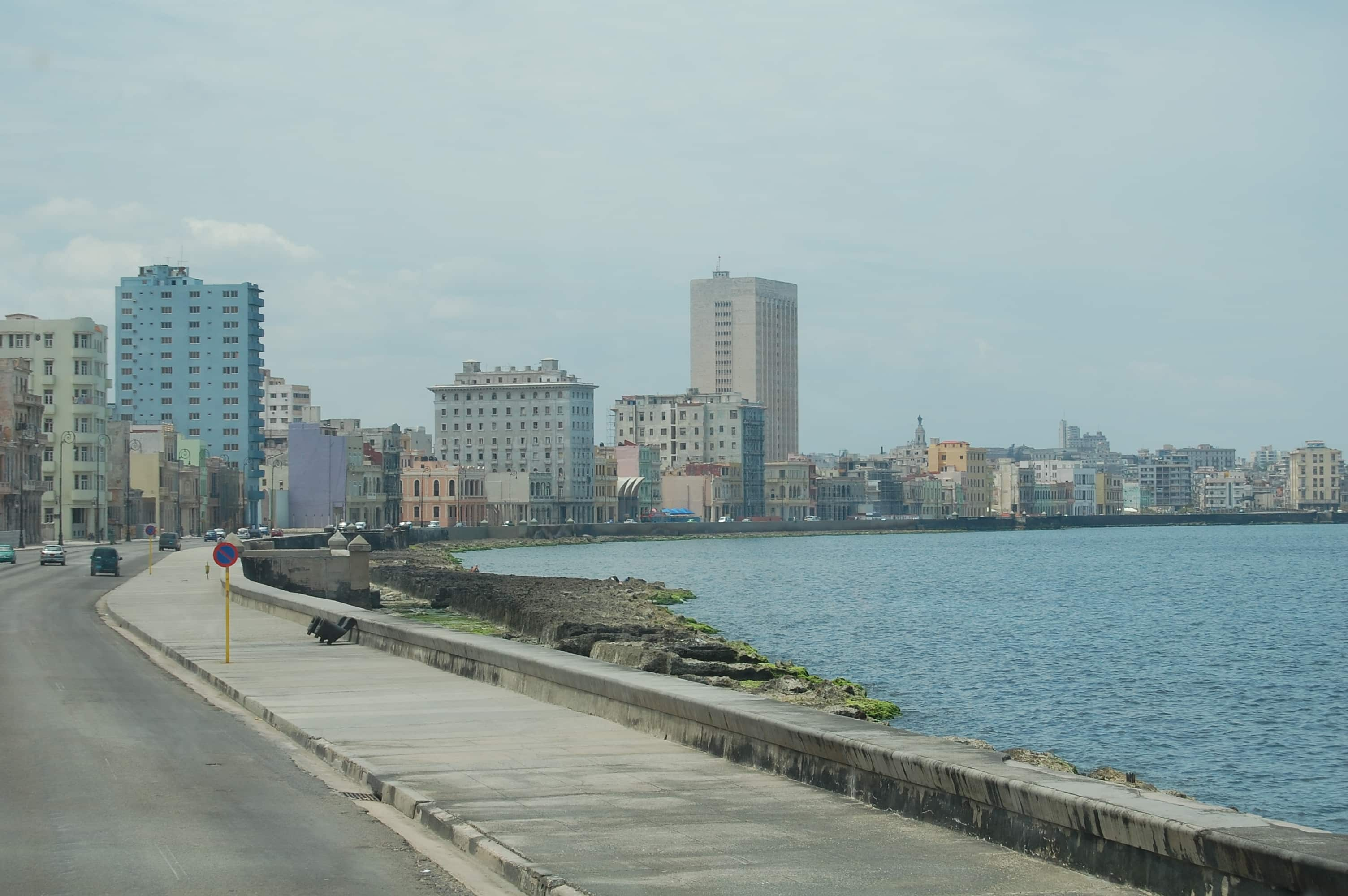 Malecón habanero. Marta Lora.