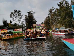 Xochimilco. Diversión obligada para los visitantes