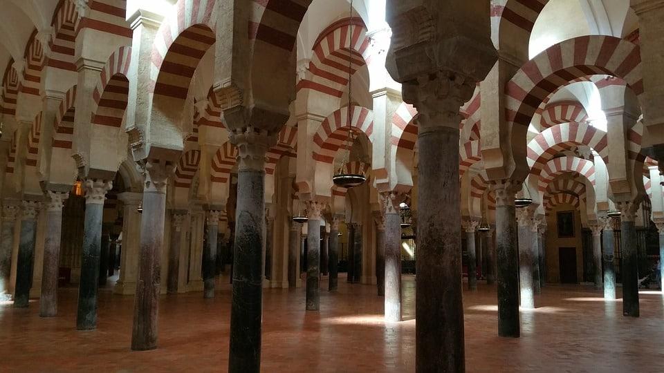 Interior Mezquita de Córdoba.