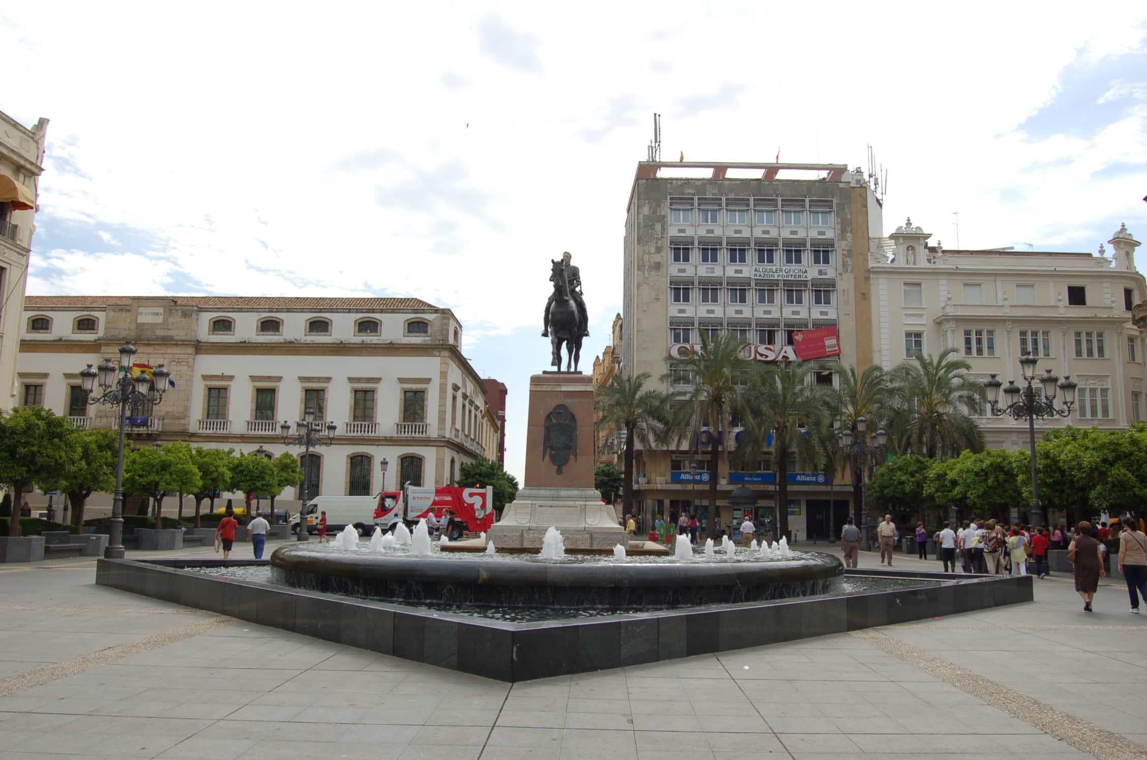 Plaza de las Tendillas.