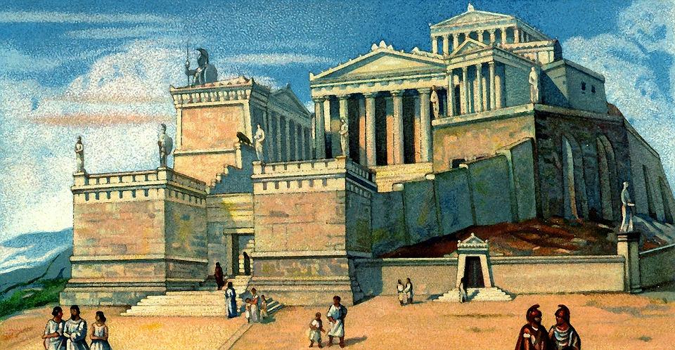 acropolis antigua atenas