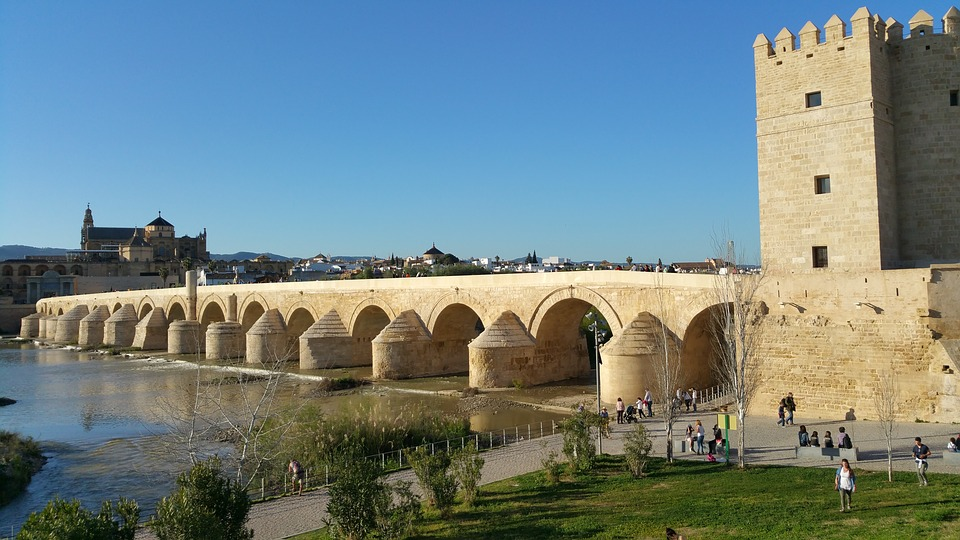 Puente Romano y Torre de la Calahorra.