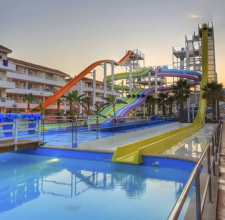 Foto del parque acuático Twisted Water Park, Mallorca