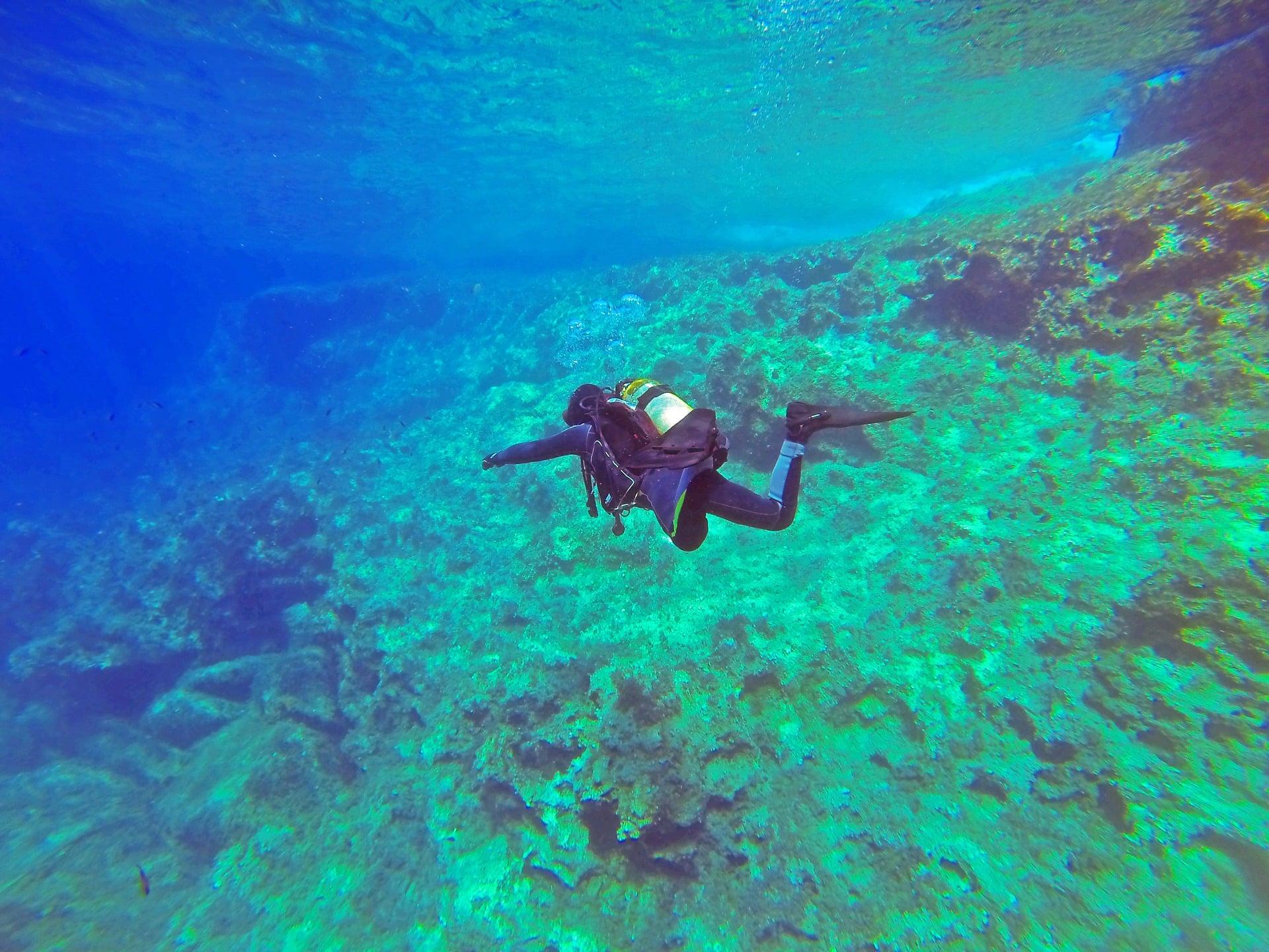 Comino en Malta (submarinismo)