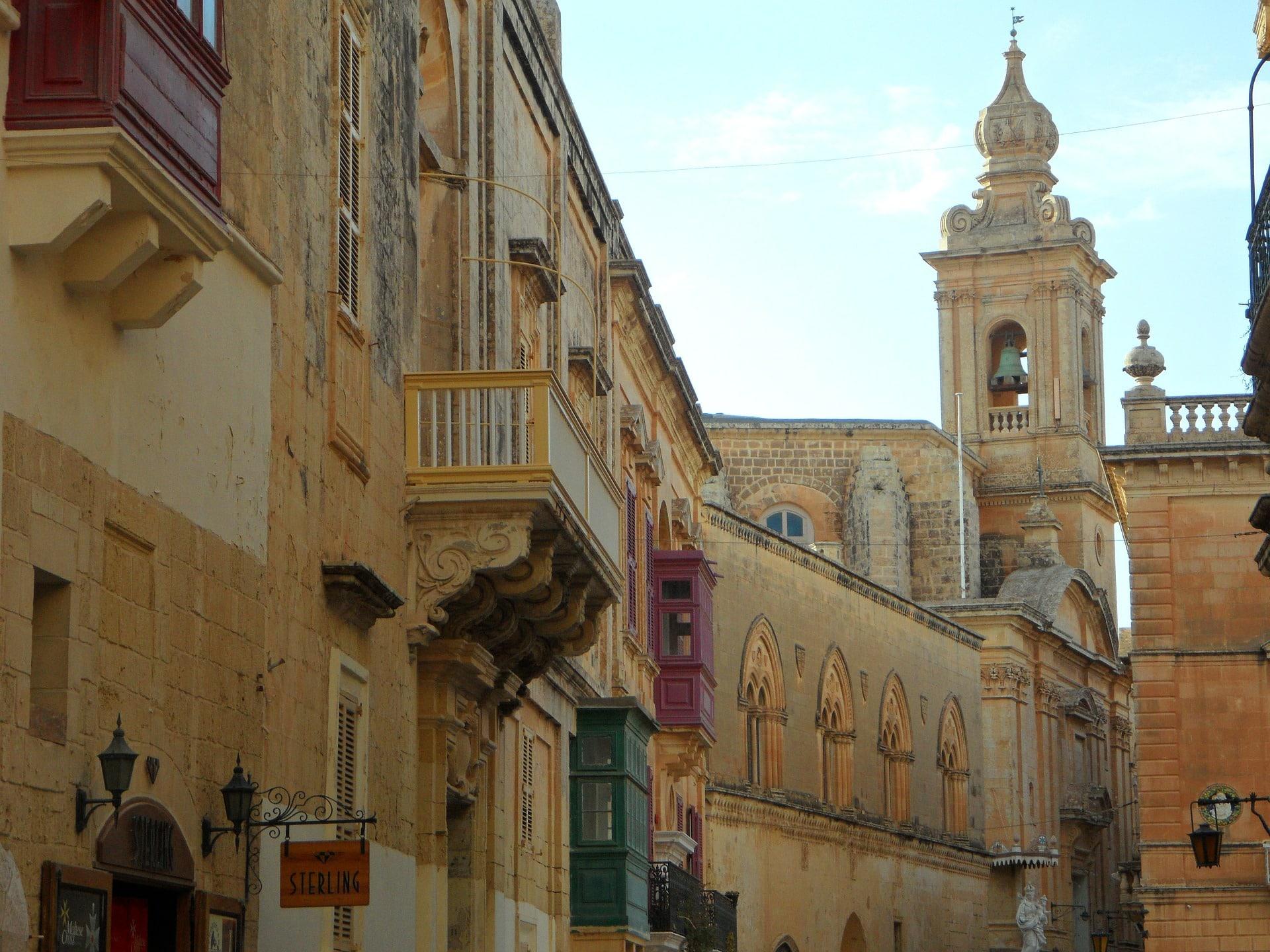 Viajar a Malta (arquitectura)