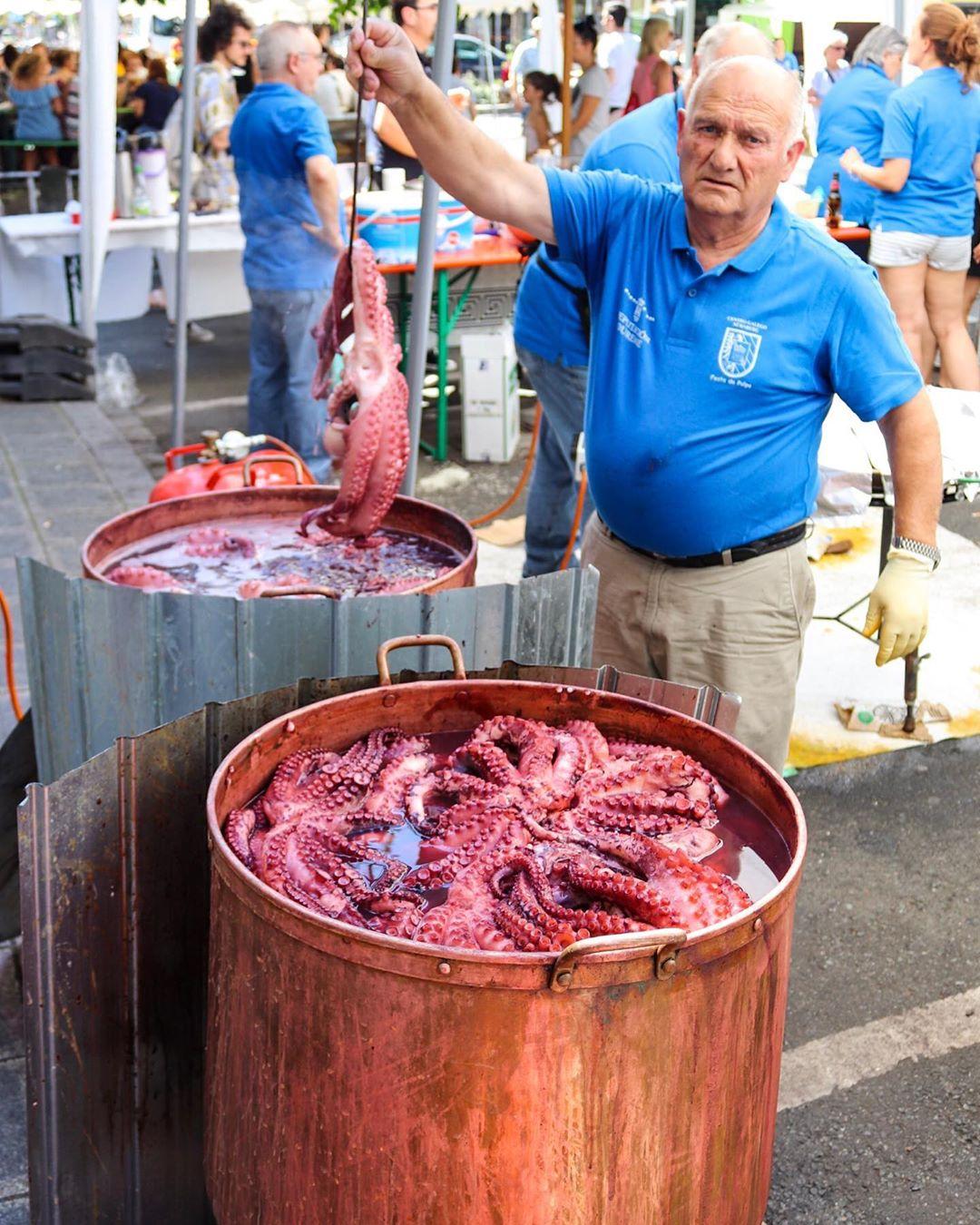 Mejores fiestas gastronómicas de Galicia
