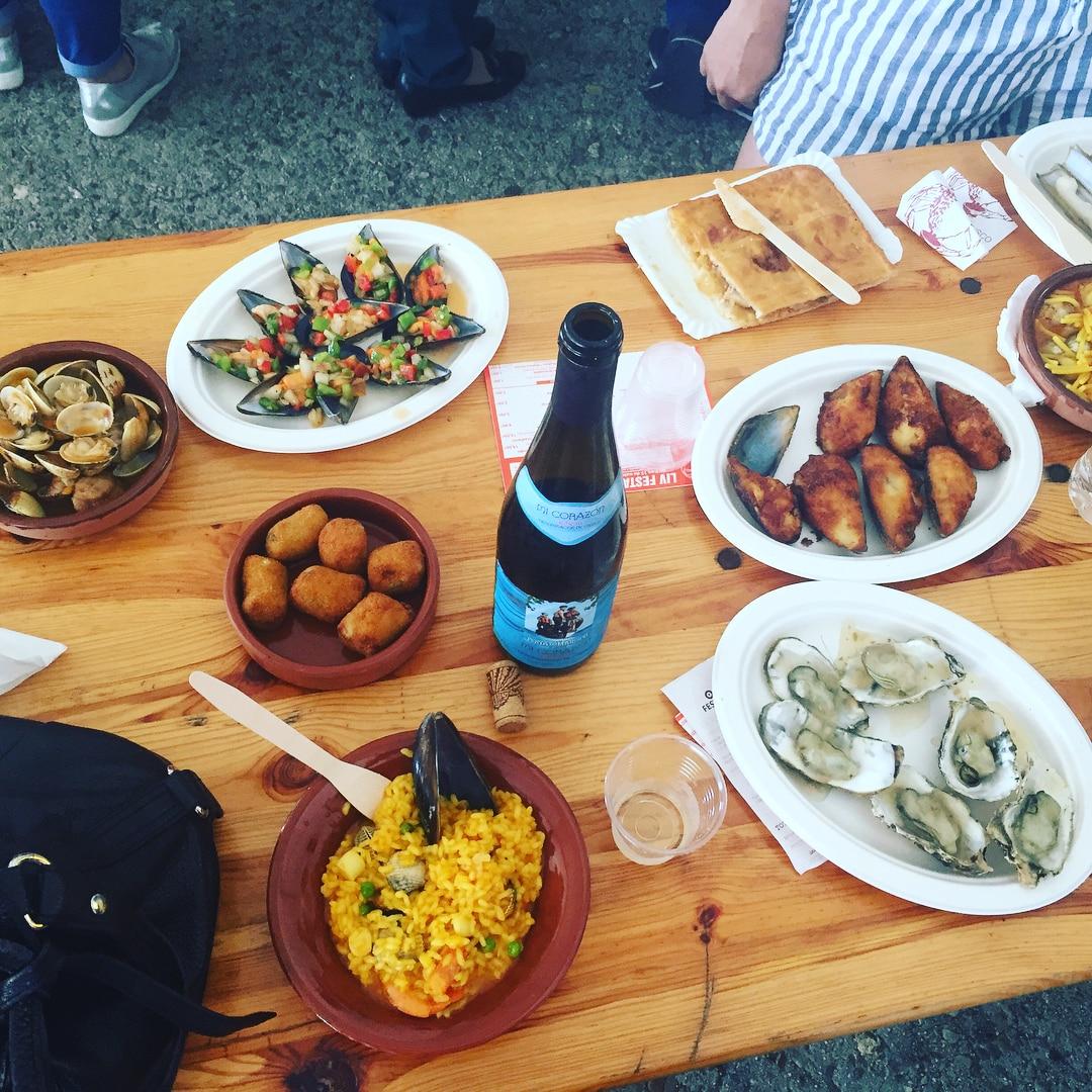 Fiesta del marisco de O Grove