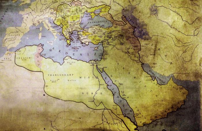 extension imperio otomano