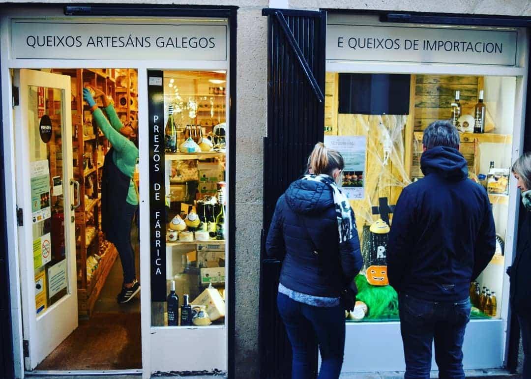 De compras por Santiago de Compostela