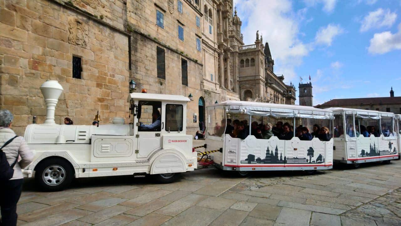 Trenes turísticos de Santiago de Compostela