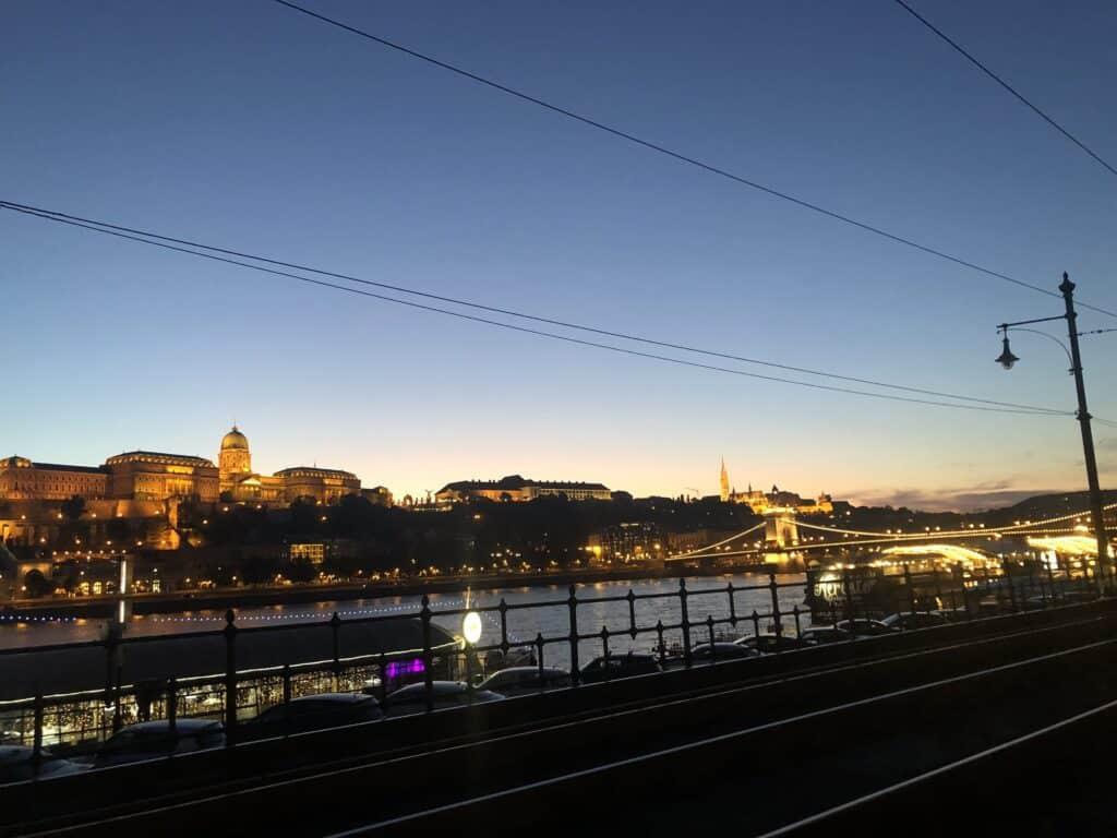 Vista desde Linea 2, Tranvia Budapest