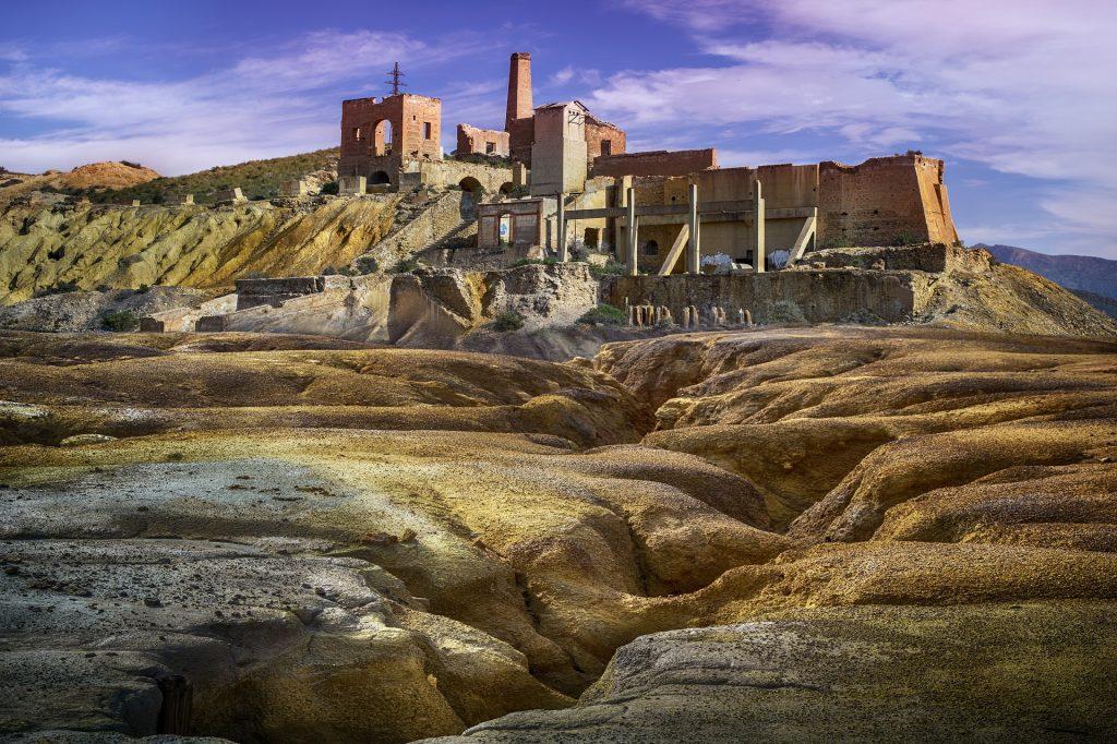 Minas abandonadas Mazarrón