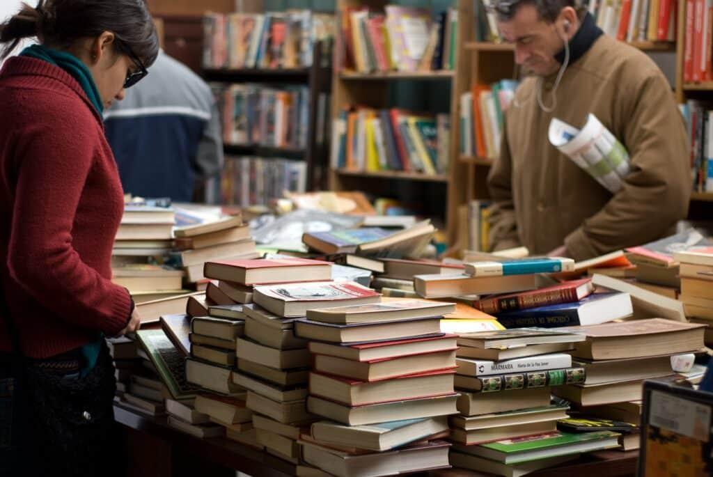 Las librerías son lugares obligatorios a visitar para aprender bien un idioma
