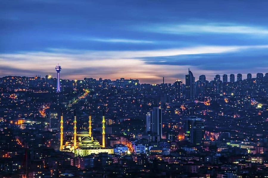 Capital de Turquía